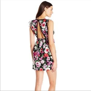 Betsey Johnson Open Back Mini Dress