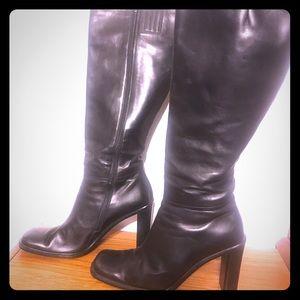 Via Spiga Knee high black boots size 9.5