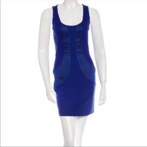 Cobalt Blue DVF Sleeveless Mini Dress