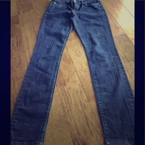 Seven 7 for all mankind mid rise straight 28 dark