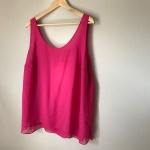 Flowy Pink Blouse