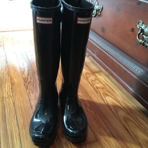 Like NEW Tall Hunter Rain Boots