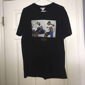 Michael Jordan and Magic Johnson t shirt
