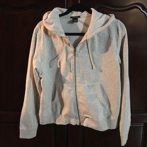 Gently worn Gap zip-up hoodie