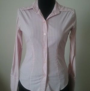 Pink Stripped Blouse