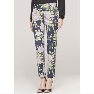 Rag and Bone Malin floral pants size 4