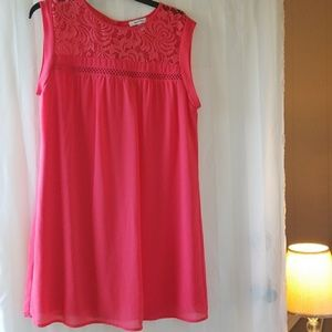 Speechless Coral dress