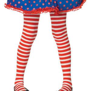 Kids Striped Tights Costumes Halloween LG 7 - 10