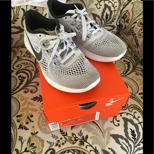 Gray Nike Free RN