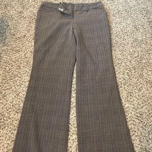 Plaid business pants