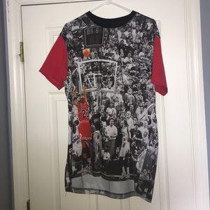 Michael Jordan last shot T shirt
