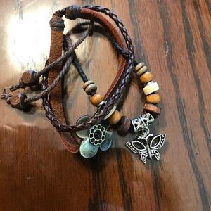 Leather Boho Bracelet Bundle