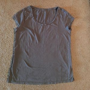 LOFT gray t shirt large