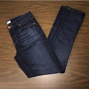 NEW! LOFT Modern Straight Jeans