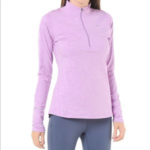 Nike Dri Fit Element Half Zip Running Top