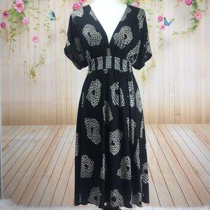 • Anthro • Maple • Silk Kimono Dress • Small •