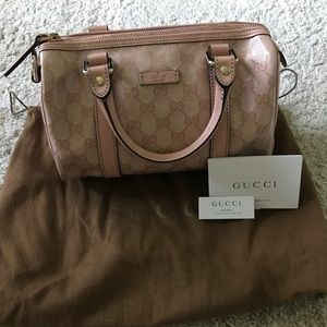 💯% Authentic Gucci Speedy bag