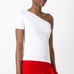 Jacquemus One Shoulder T
