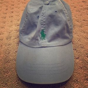 Authentic Blue polo ball cap