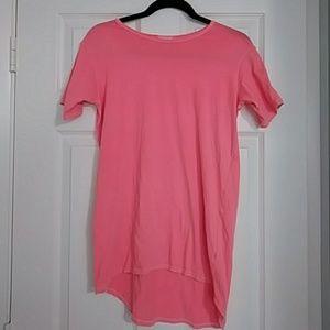 LuLaRoe Tee Shirt - Coral- Size 14