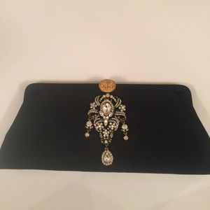 Vintage Upcycled Clutch