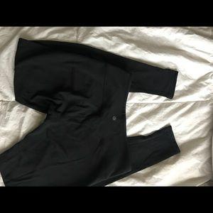Lululemon leggings (reversible)