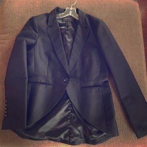 BCBG Black Blazer - Size Large