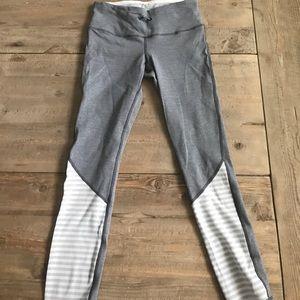 Lululemon grey and white pants