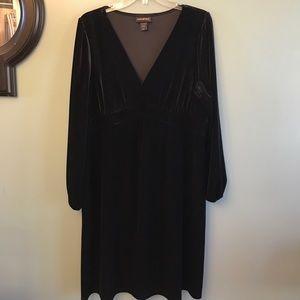 Black Empire-Waist Dress size 14-16