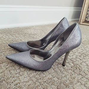 Guess Glitter Pointed Toe Heels