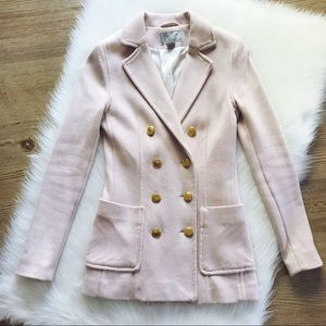 🍁FALL SALE🍁H&M Pink Blazer With Gold Buttons