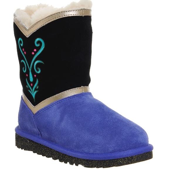 Ugg Girls Disney Frozen Anna Coronation Boots