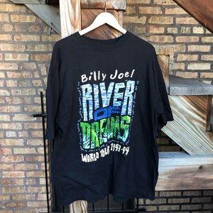 Vintage 93' Billy Joel River Of Dreams Concert T