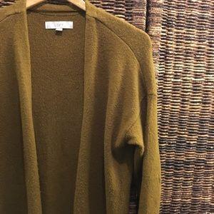 LOFT - Long Open Sweater