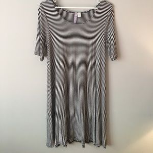 striped comfy dress