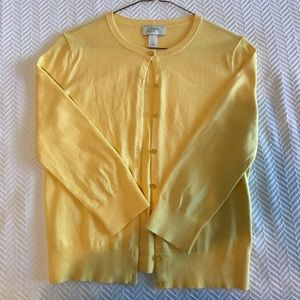 LOFT Lightweight Cardigan. 3/4 sleeve. Size S.