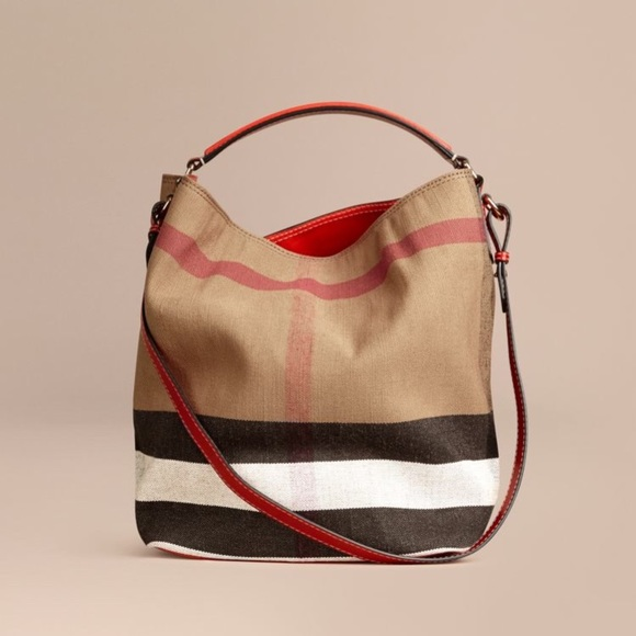 e58ecb7df316 Burberry Handbags - Medium Ashby canvas Burberry bag!