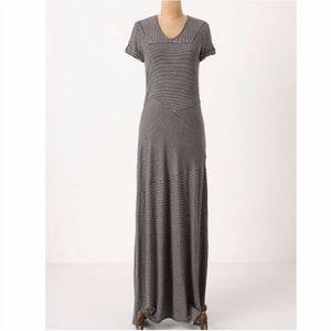 Deletta Linear Landscape Maxi Dress