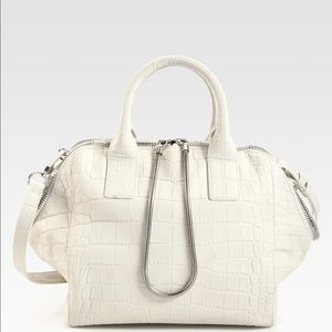 ALEXANDER WANG Croc Embossed Jamie Chastity Bag