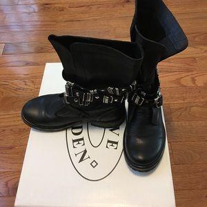 Steve Madden Biker/Combat Boots