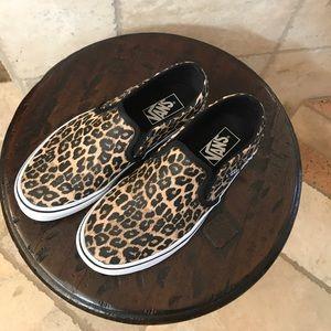 Leopard Vans Sneakers