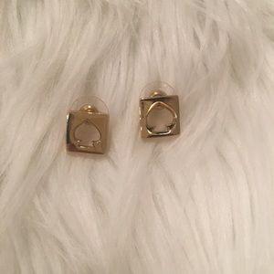 Kate spade signature logo earrings