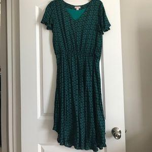 Merona scallop pattern dress