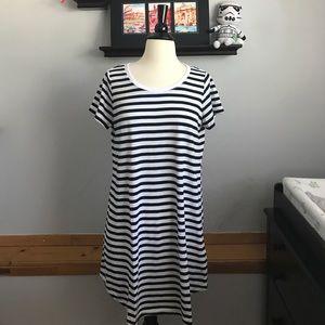 NWT COTTON ON Stripe T-Shirt Dress