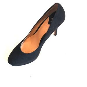 H&M Suede black Pumps 10