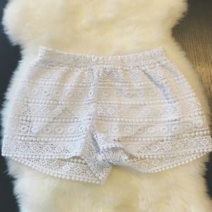 Crocheted Shorts
