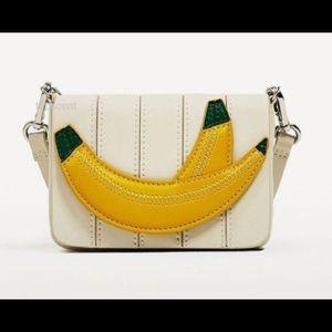 Zara Mini Banana Crossbody Bag