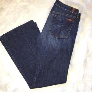 Seven 7 For All Man Kind SFAMK Dojo denim jeans 28