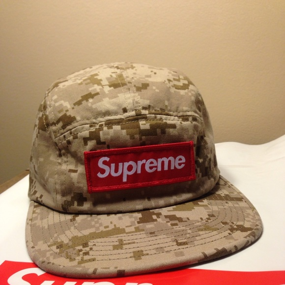 Supreme camo box logo hat new with tags 49dcc8fdef29