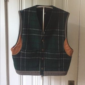 Vintage Ralph Lauren plaid vest M